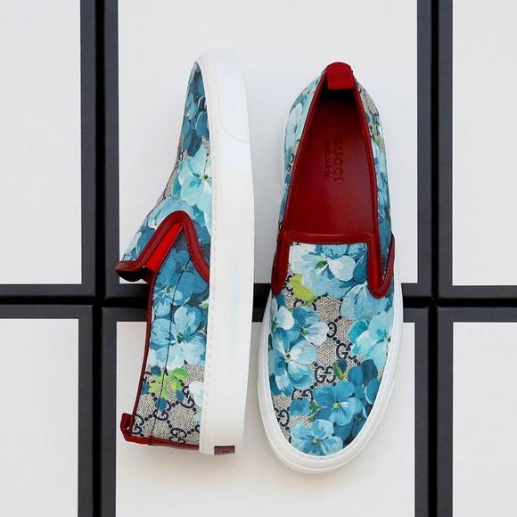 87b19fc9c Gucci Shoes   Nib Womens Supreme Gg Bloom Slip On Sneakers   Poshmark